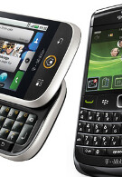 November 11th T-Mobile launch date for Motorola CLIQ and BlackBerry 9700?