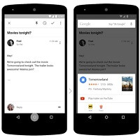 Here's an up close look at Google Now on Tap