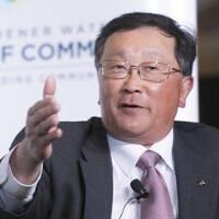 John Chen explains why BlackBerry still makes phones