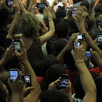 India led the way in the number of net new mobile users during the first quarter