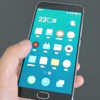 Meizu MX5 leaks in hands-on video – familiar design, beautifully thin bezels