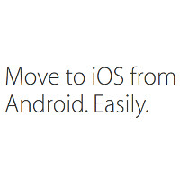 Move to iOS is Apple's 'second' Android app