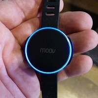Hands on with the Moov fitness tracker and coach