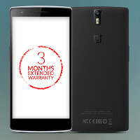 Certain OnePlus One users will get a free three month extended warranty in India