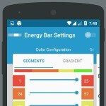 Energy Bar is an animated, color-coded battery charge indicator for Android