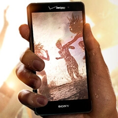 The Quad HD screen of Sony Xperia Z4v doesn't seem to affect the phone's battery life