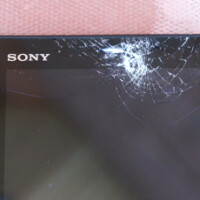 Sony Xperia Z4 Tablet gets dropped, scratched and shot at