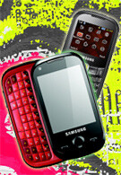UPDATED: The Samsung CorbyTXT and CorbyPRO – two handsets aimed at young people