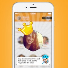 Foursquare's Swarm app has reintroduced the mayorship feature