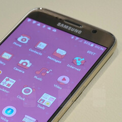 Check out this stock Android theme for the Samsung Galaxy S6 and S6 edge