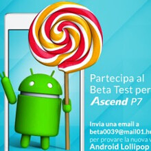 Android 5.1 Lollipop update for Huawei Ascend P7 enters beta testing, should be launched soon
