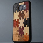 Look at these one of a kind wooden Samsung Galaxy S6 cases
