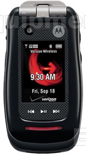 Exclusive images of the Motorola Barrage V860 PTT phone