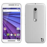 Detailed press renders showcase the upcoming Motorola Moto G (2015) in white