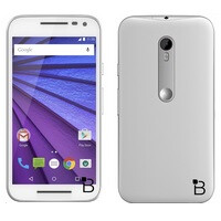 Detailed press renders showcase the upcoming Motorola Moto G (2015) in white