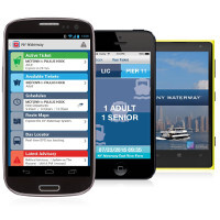 Don't get stuck on line, pay for your ticket using Bytemark's NY Waterway app