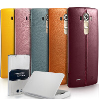 LG's new promo will get you a free spare leather back and battery if you buy a G4 in July