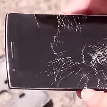 Watch the G Flex 2 get dropped, run over by a 10-ton roller
