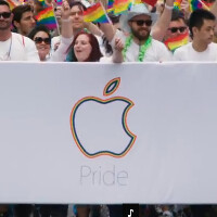 Apple's latest promotional video captures the San Francisco Pride Celebration and Parade