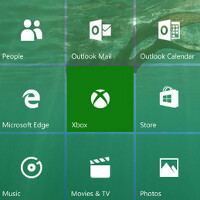 Screenshots surface of Windows 10 Mobile build 10158 running on the Microsoft Lumia 830