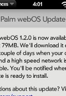 webOS 1.2 released, new features support App Catalog purchases