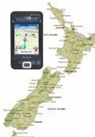 New Zealand banning the use of navigation aid on phones while driving