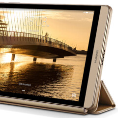Huawei officially unveils the Mediapad M2 tablet, the tablet version of the Huawei P8