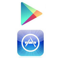 Latest stats shows Google Play Store leading in downloads, but Apple App Store on top for revenue