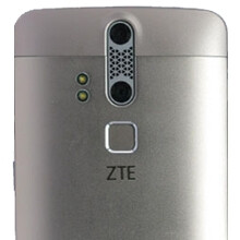 ZTE Axon variant with fingerprint scanner shows up