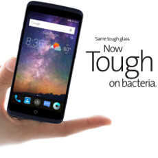Germophobes, rejoice! ZTE Axon is the first phone with Corning's antimicrobial Gorilla Glass
