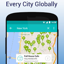 WifiMapper for Android shows you free Wi-Fi hotspots nearby, powered by OpenSignal
