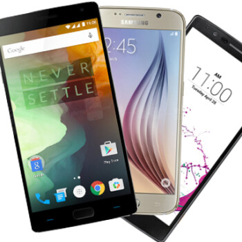 OnePlus 2 vs Samsung Galaxy S6 vs LG G4: Specs Comparison