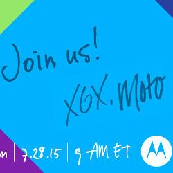 Watch the Motorola Moto G/X 2015 announcement live stream here