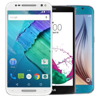 Moto X Style vs Samsung Galaxy S6 vs LG G4: Specs comparison