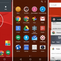 More new screenshots showcase Sony's beta stock Android UI concept