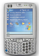 HP IPAQ hw6500 series now available from Cingular