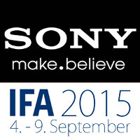 Sony's IFA 2015 keynote is scheduled for September 2
