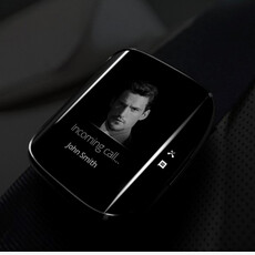 Galaxy S6 edge smartwatch concept brings Samsung's curvaceous design langauge to wearables