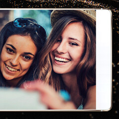 Huawei is altering some promo images of its P8 smartphone to make it look near bezel-less