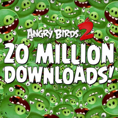 Angry Birds 2 passes 20 million downloads in one week