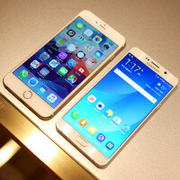 Samsung Galaxy Note5 vs Apple iPhone 6 Plus: first look