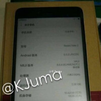 Xiaomi Redmi Note 2 image is revealed, along with its box and pricing