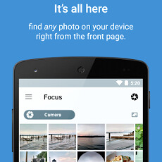 A new Focus app lands to replace your aging Android picture gallery