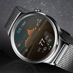 The classy Huawei Watch should be released soon in the US