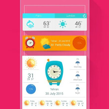 Weather 360 + widgets & clocks app brings new blood to your dusty homescreen