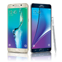 Samsung Galaxy Note5 vs Galaxy S6 edge+ vs Apple iPhone 6 Plus: specs comparison