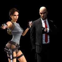 Lara Croft meets Hitman Go, result is a beautiful puzzle game