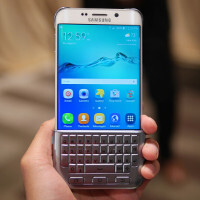 Samsung Keyboard Cover for the Galaxy S6 edge+ hands-on