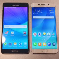 Samsung Galaxy Note5 vs Samsung Galaxy Note 4: first look