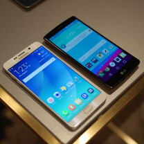 Samsung Galaxy Note5 vs LG G4: first look